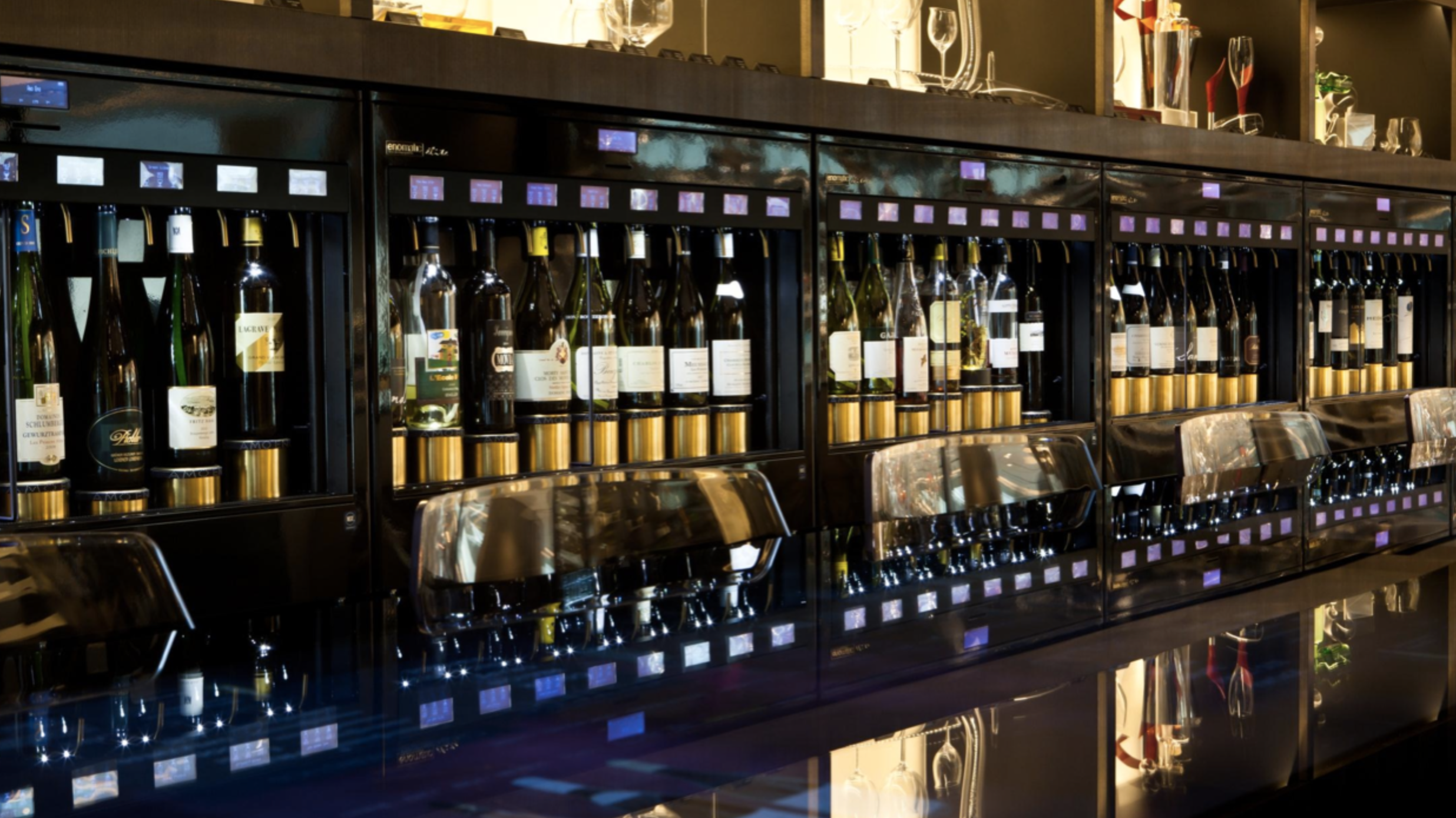 enoline elite wine dispenser systems