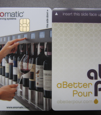 enomatic wine cards